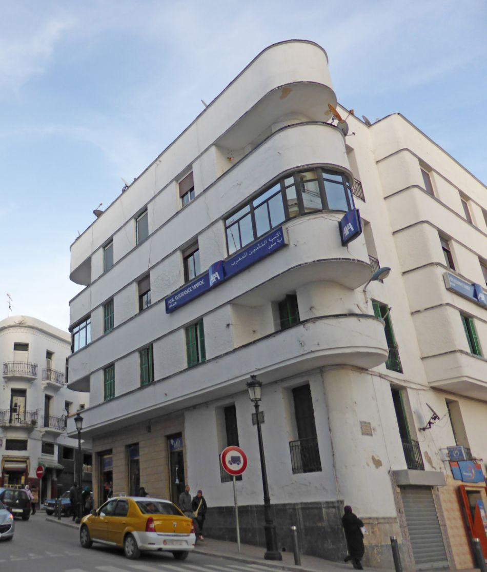 Edificio para los señores Benarroch y Bentata (Tetuán)