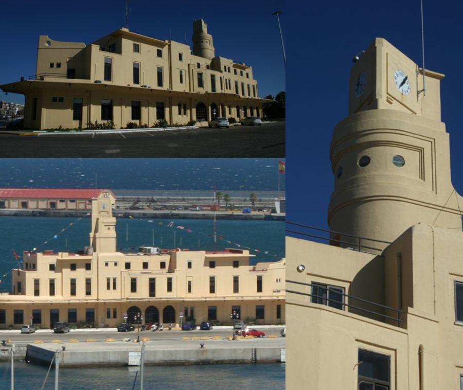 Edificio de la Junta del Puerto u Oficinas de la Autoridad Portuaria de Ceuta (Muelle de España, 12)
