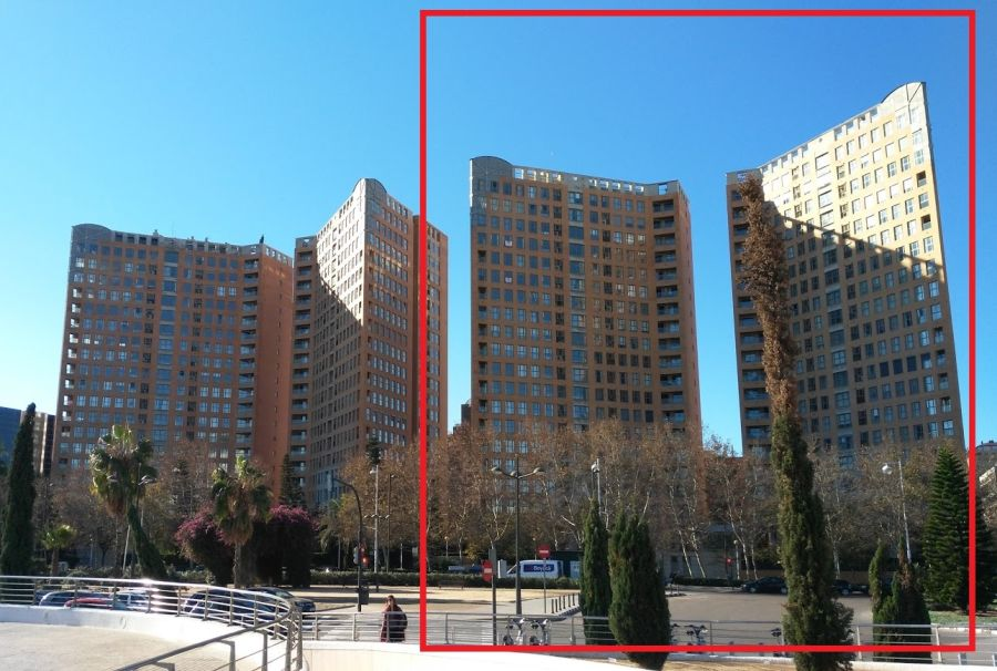 Rascacielos históricos Valencia Ciudad de las Ciencias