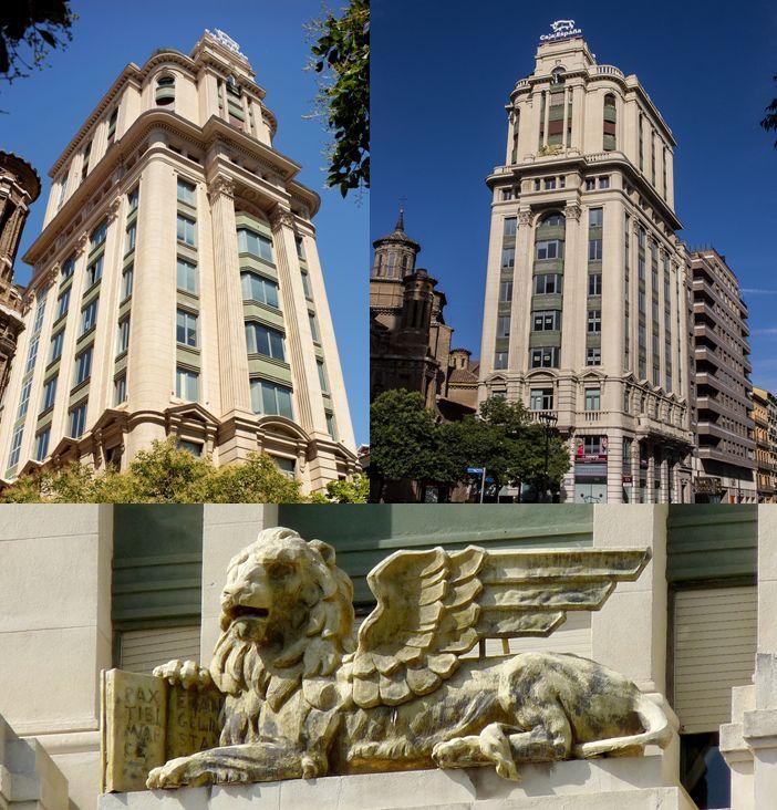 Históricos rascacielos en España La Adriática