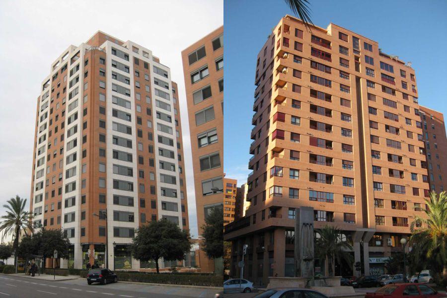 rascacielos históricos Valencia 1998