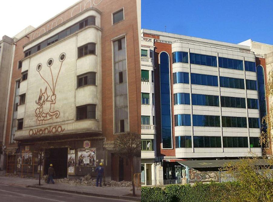Antiguo Teatro Cine Avenida (avenida Arlanzón, 1)