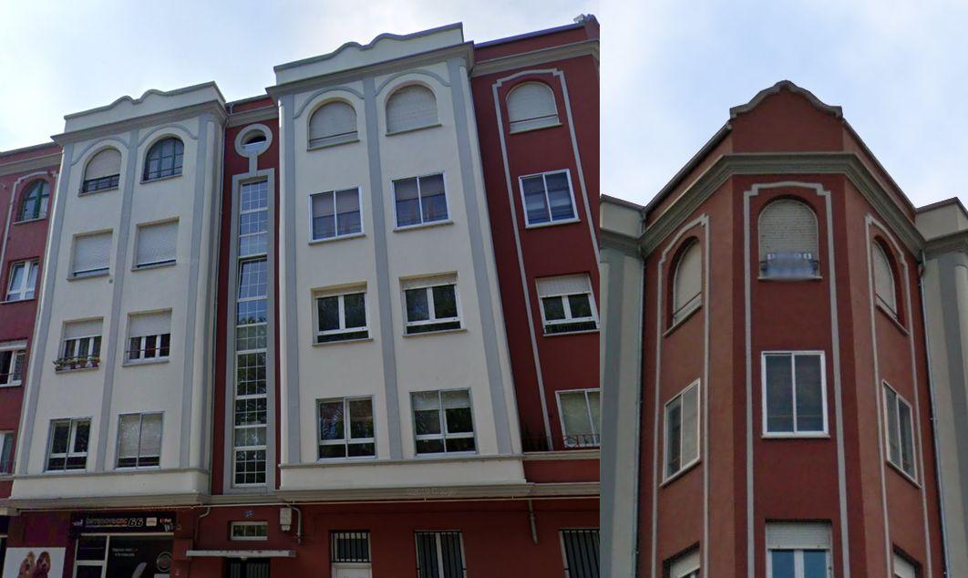 Burgos Art Decó en avenida Palencia 23 1925
