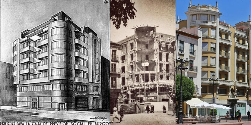 Caja Previsión Social de Burgos Art Decó