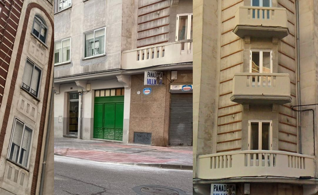 Calle Diego Laínez 13 Burgos Art Decó