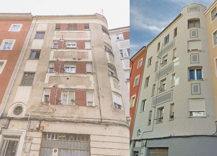 Calle Sedano 3 es Burgos Art Decó
