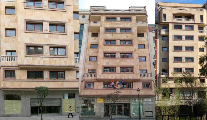 Calle Vitoria 16 y avenida del Arlanzón Burgos Art Decó