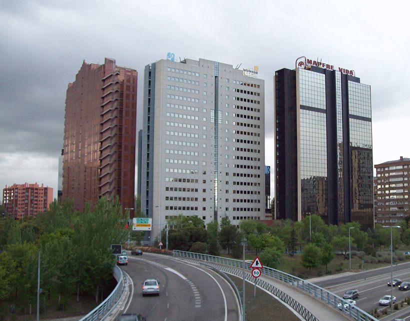 Rascacielos en España Edificio Mapfre