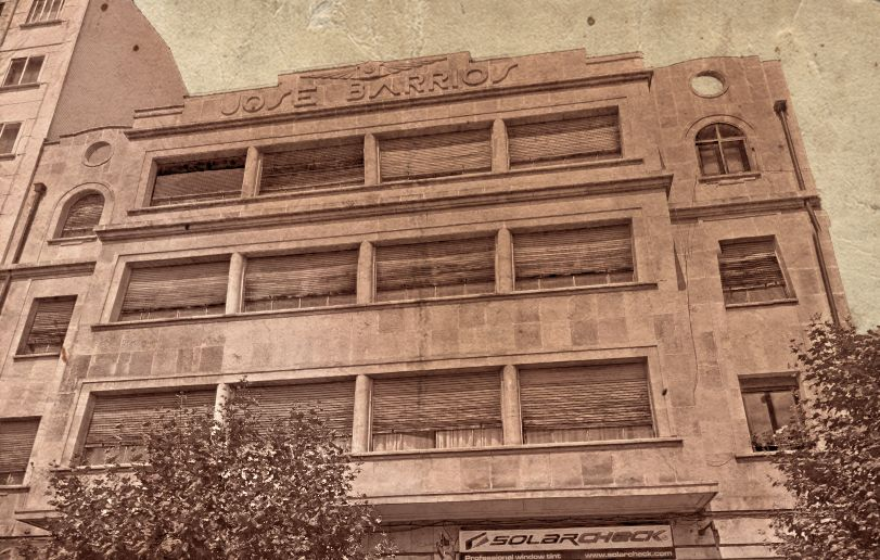 Garaje Barrios Burgos Art Decó