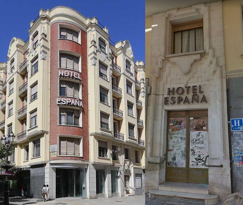 Hotel España (paseo del Espolón, 32)