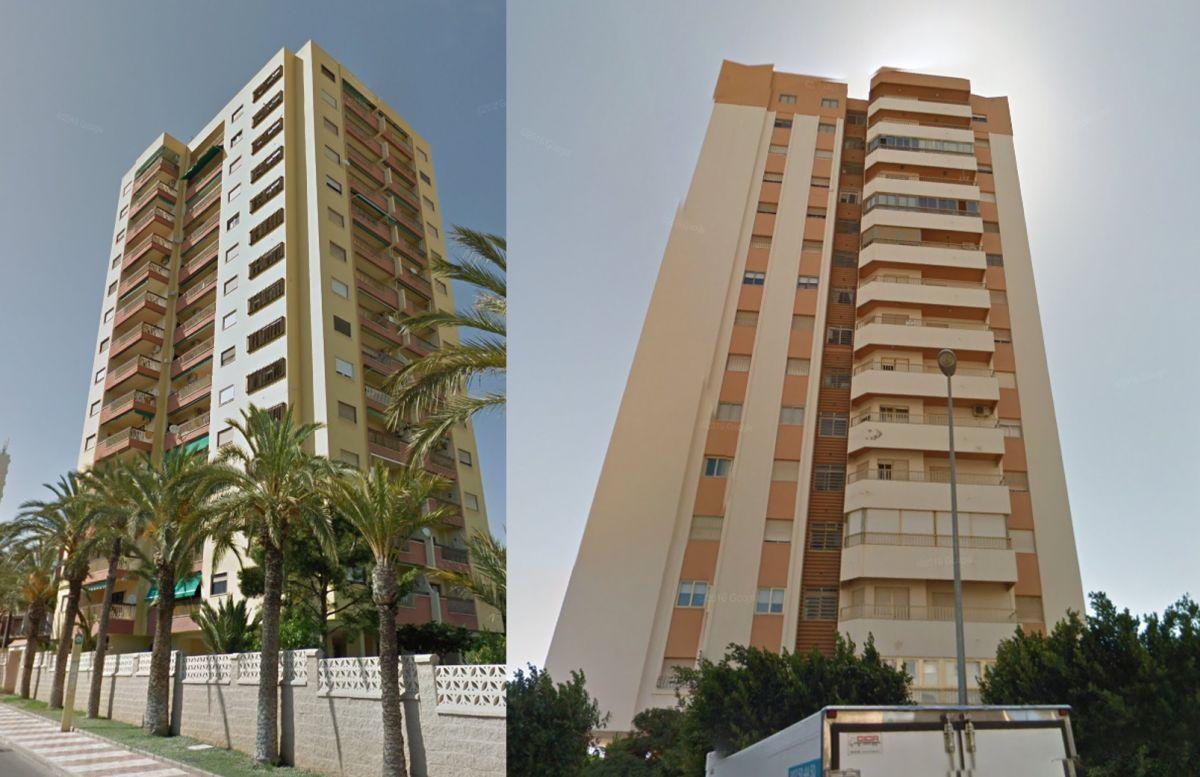 Rascacielos en España: Roquetas de Mar 1978