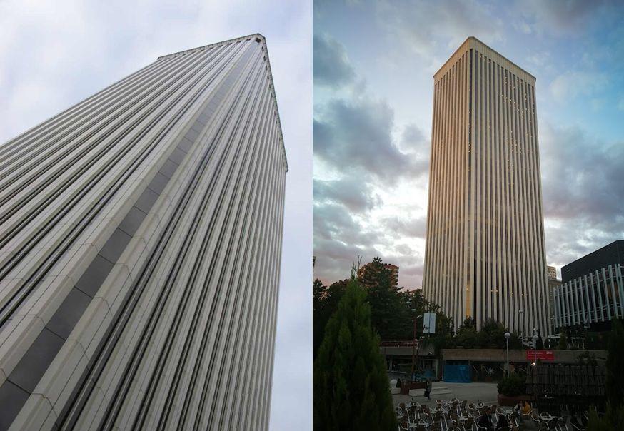 Rascacielos en España Torre Picasso