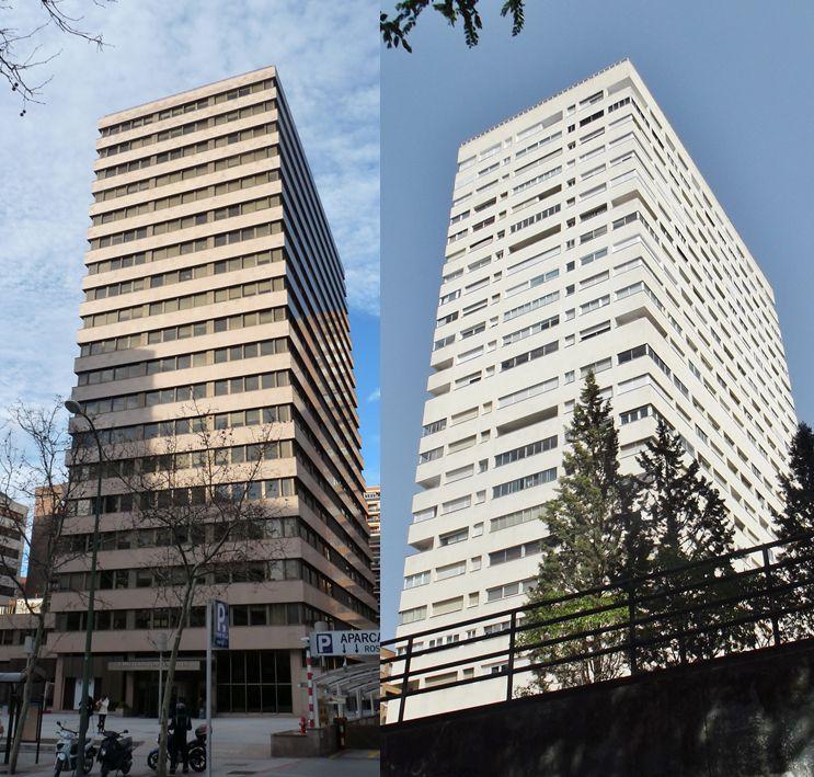 Rascacielos en España Madrid 1978
