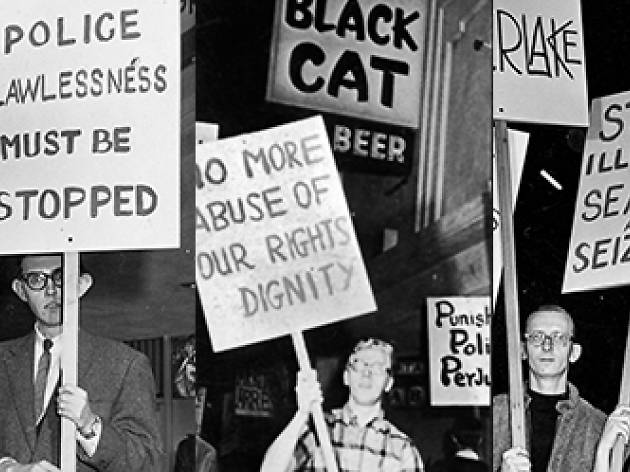 Black Cat Tavern y Pasaje Begoña