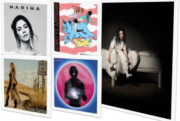 Crítica When We All Fall Asleep, Where Do We Go? debut de Billie Eilish junto a LOVE de MARINA, Disco China de Brigitte Laverne, La Gran Esfera de La Casa Azul y No U Turn de Susan Santos
