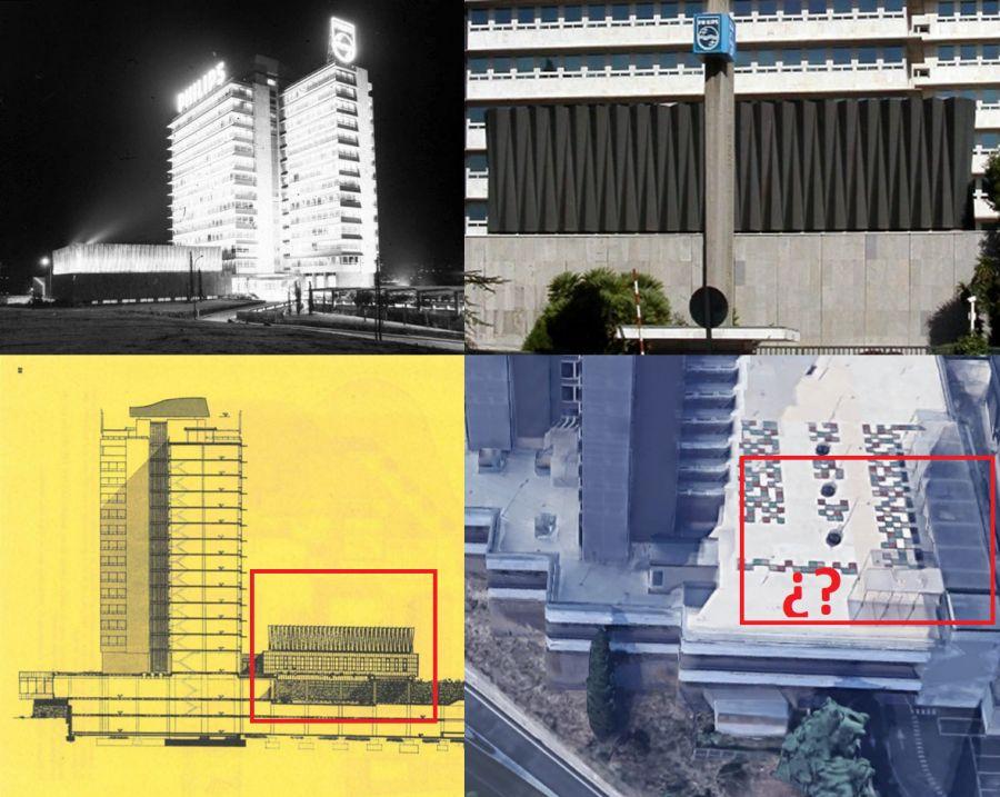 Mutilación Edificio Philips Ibérica reforma 2011