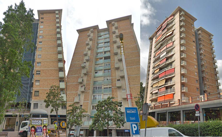 Passeig de Valldaura Rascacielos Barcelona