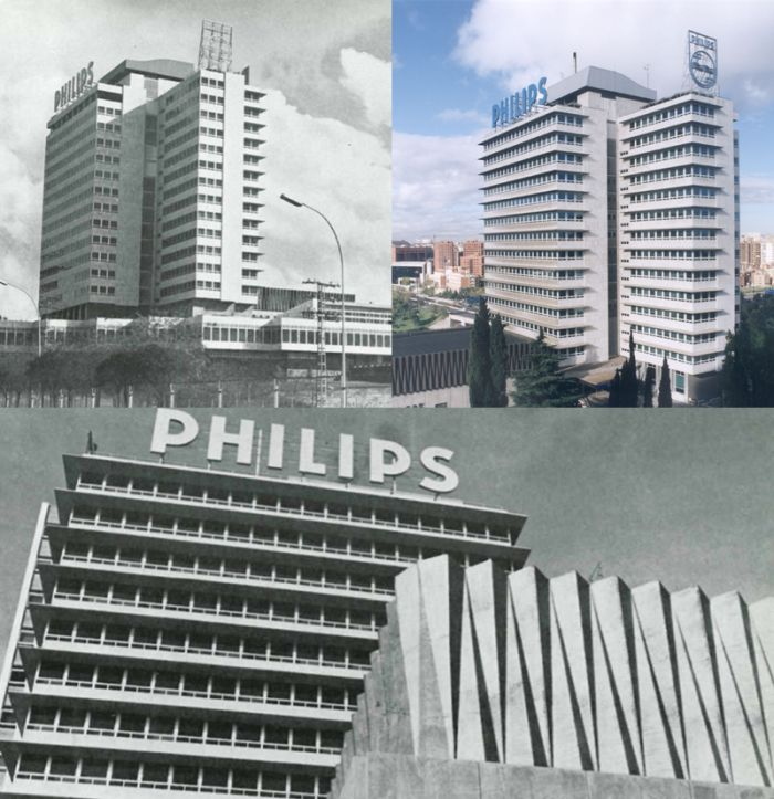 Antiguo Edificio Philips Ibérica Madrid