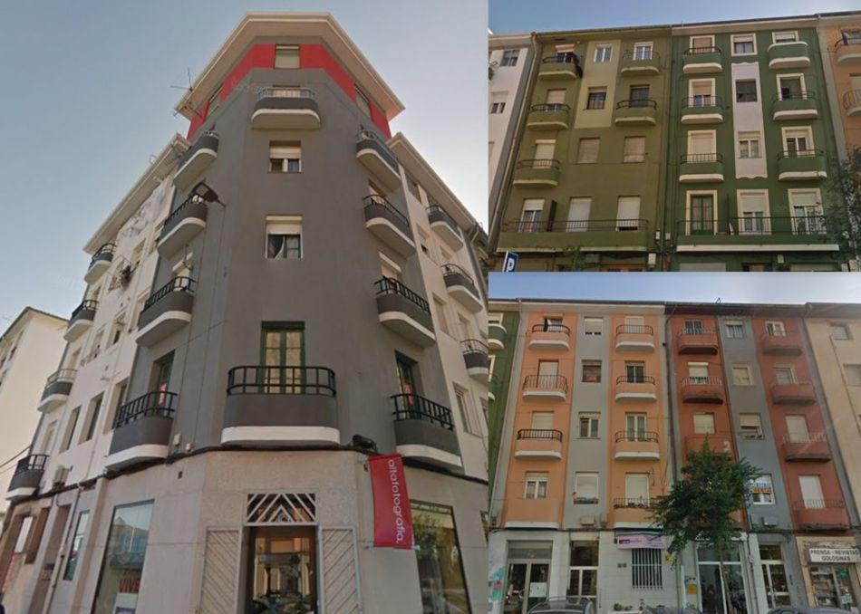 Calle Justicia, 2 y Alta, 99, 101, 103 y 105