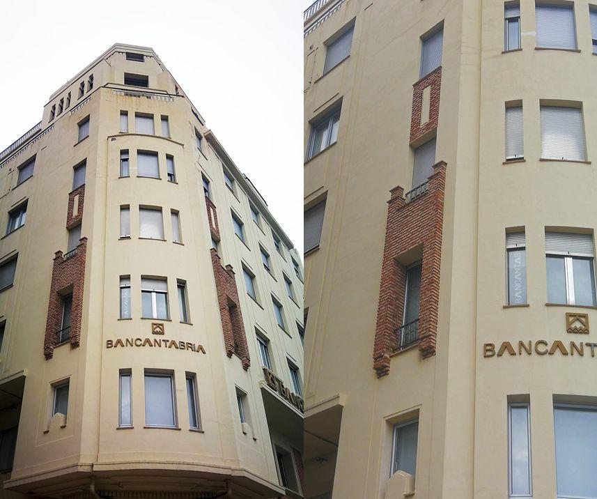Edificio Bancantabria o Casa Yllera (calle Santos Garandilla, 2)