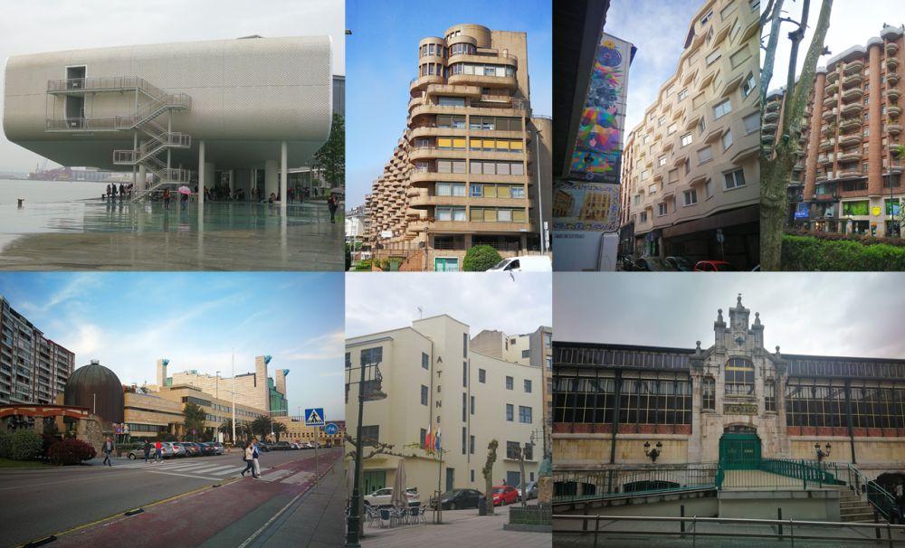 Más allá del Santander Art Decó arquitectura siglo XX y XXI en Santander