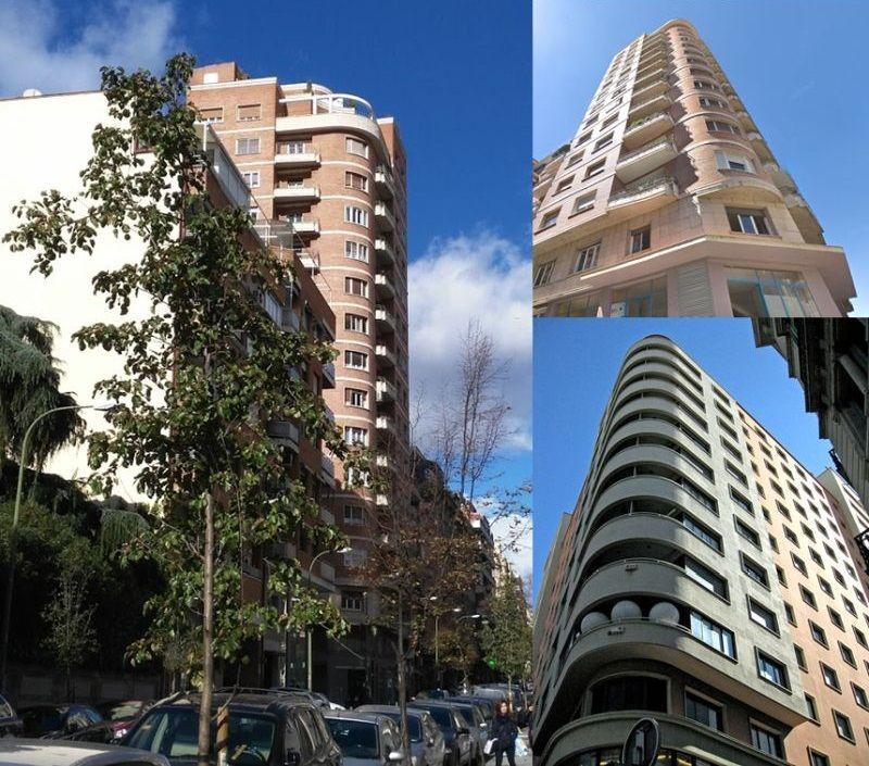 Modesto Lafuente 45 versus Edifici Fábregas