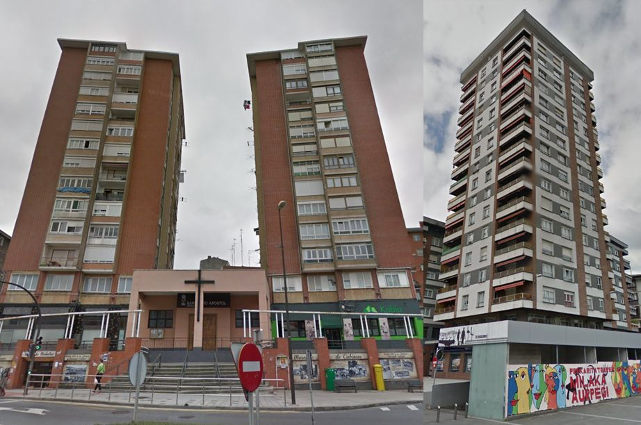 País Vasco rascacielos antiguos