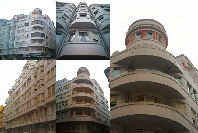 Edificio Siboney Santander Art Decó