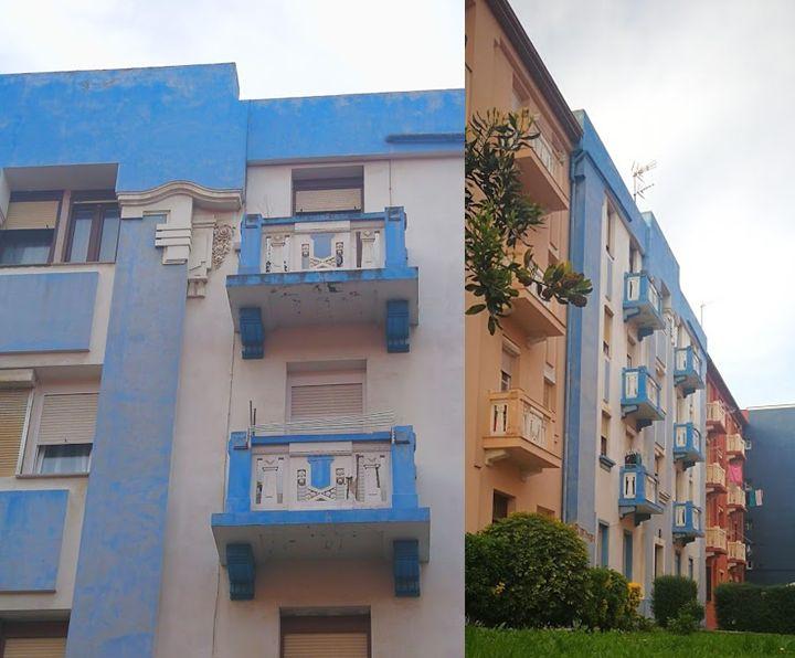 Santander Art Decó Zigzag Moderne calle Antonio Mendoza 14
