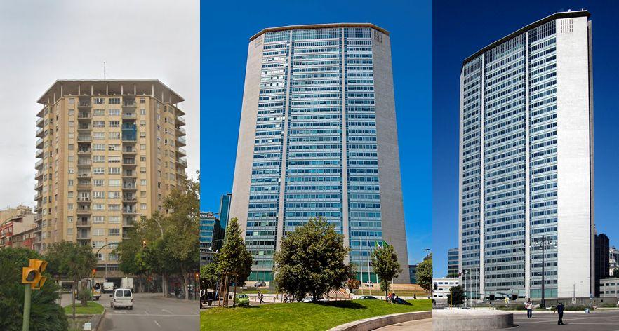 Torre Hornabeque Palma versus Torre Pirelli Milán