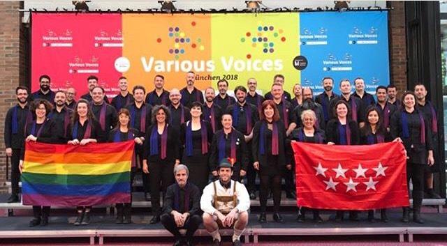 Espectáculo sobre Marsha P Johnson y Stonewall Inn con el coro Voces LGTB