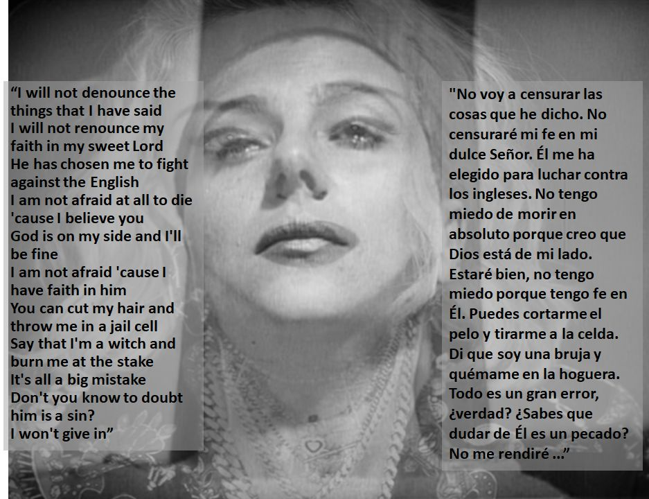 Crítica Madame X de Madonna Juana de Arco