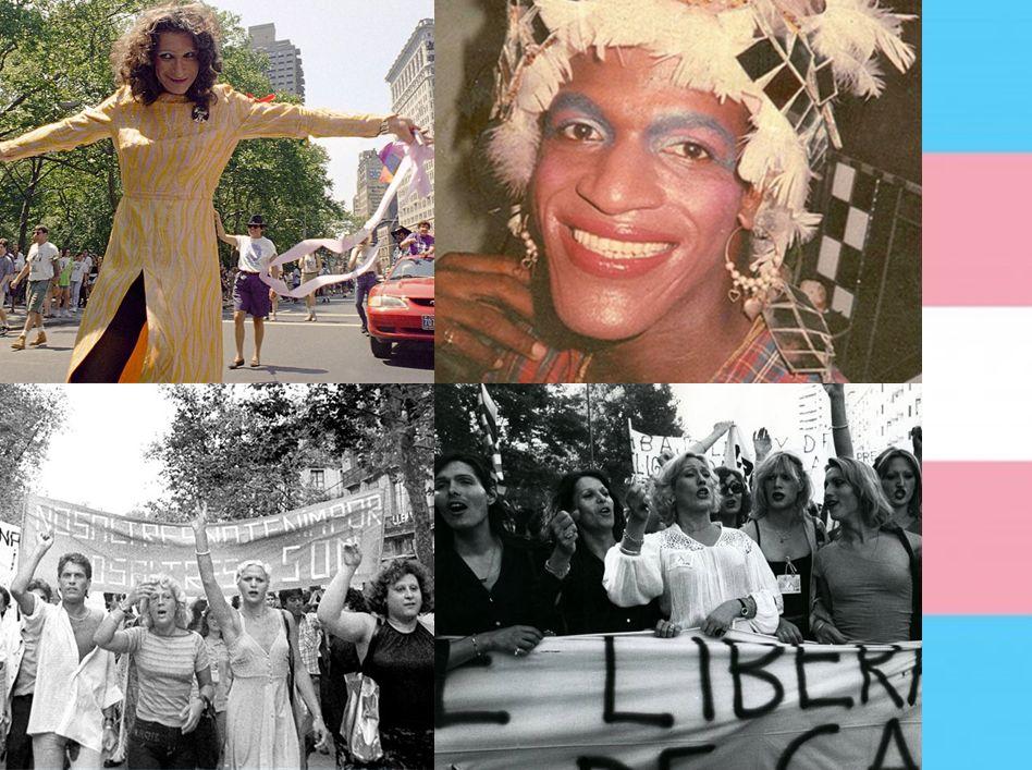 Marsha P Johnson Sylvia Rivera 50 Stonewall Mujeres trans