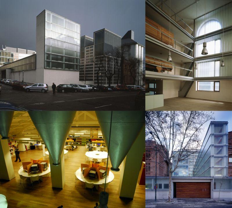 Arquitectura Vanguardia Madrid Archivo y Biblioteca Regional de la Comunidad de Madrid