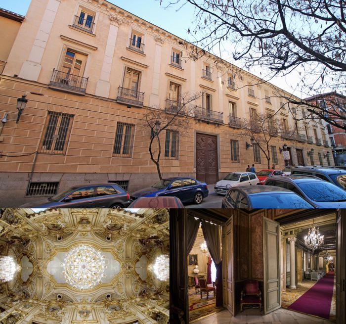 Barroco en Madrid Palacio de Fernán Núñez