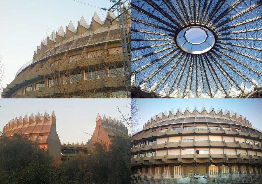 Brutalismo Madrid Instituto del Patrimonio Cultural de España Corona de Espinas