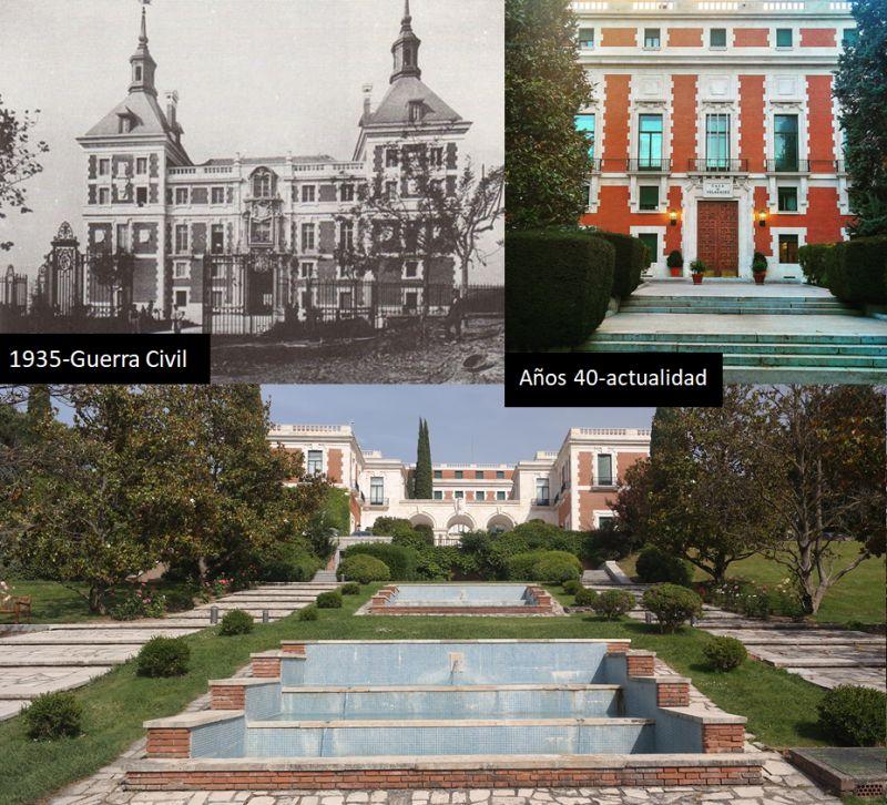 Casa de Velázquez Madrid antecedente Arquitectura Imperial Posguerra
