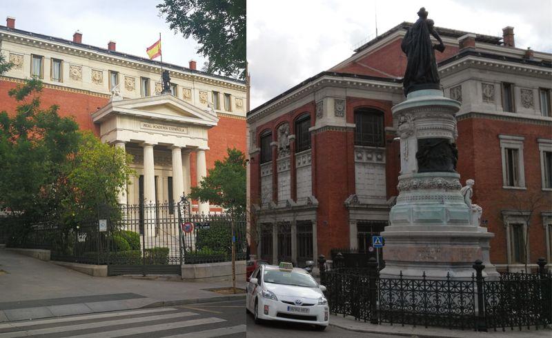 Edificio Real Academia Española Madrid Neoclásico