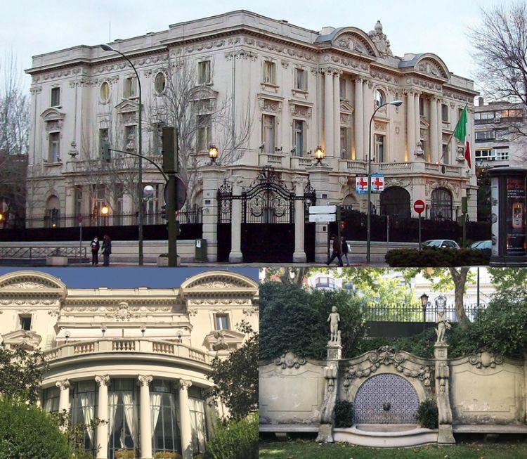 Embajada de Italia Madrid