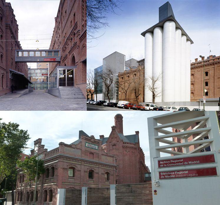 Fábrica de cerveza El Águila Semana de la Arquitectura 2019 en Madrid