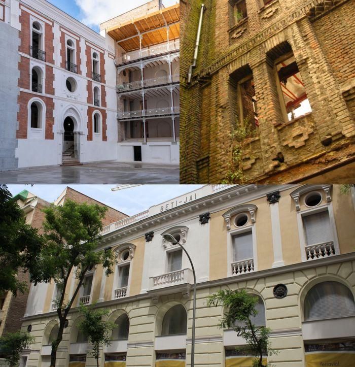 Frontón Beti Jai Semana de la Arquitectura 2019 en Madrid