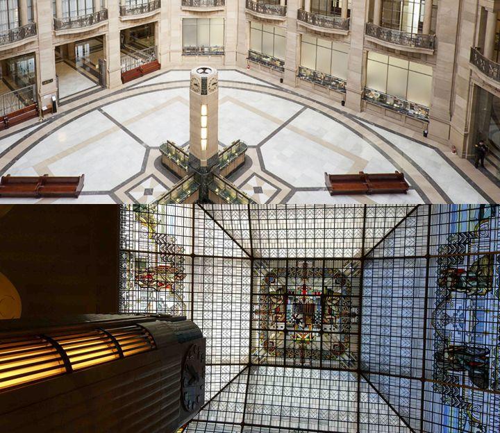 Interior Banco de España Madrid Art Decó