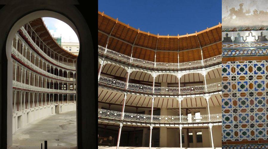 Interior Frontón Beti Jai Madrid