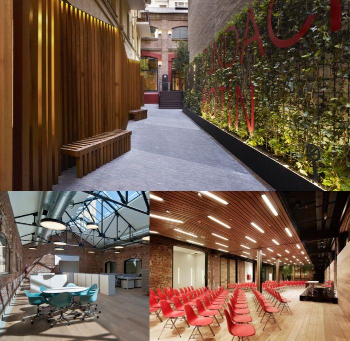 Interior Fundación Botín Madrid