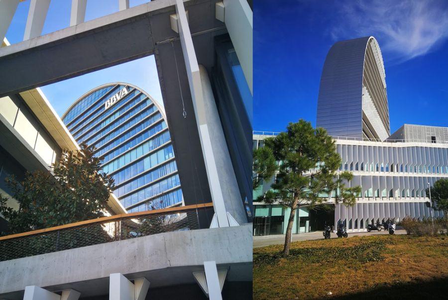 La Vela Edificio BBVA rascacielos Madrid