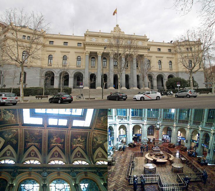 Madrid Neoclásico Palacio de la Bolsa