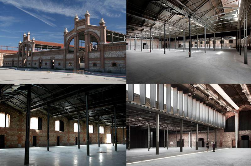 Matadero Madrid Arquitectura siglo XX