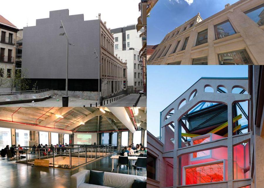 Medialab-Prado Madrid arquitectura vanguardia