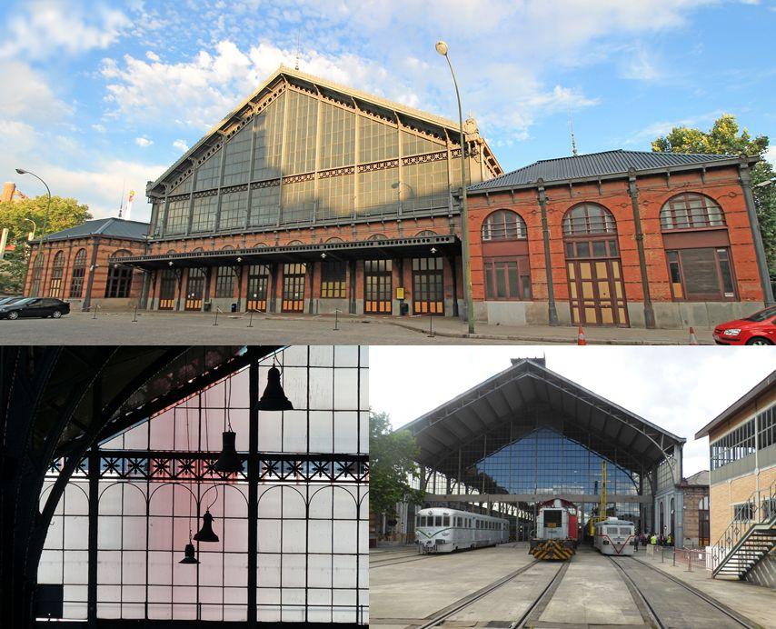 Museo del Ferrocarril Estación Delicias Madrid