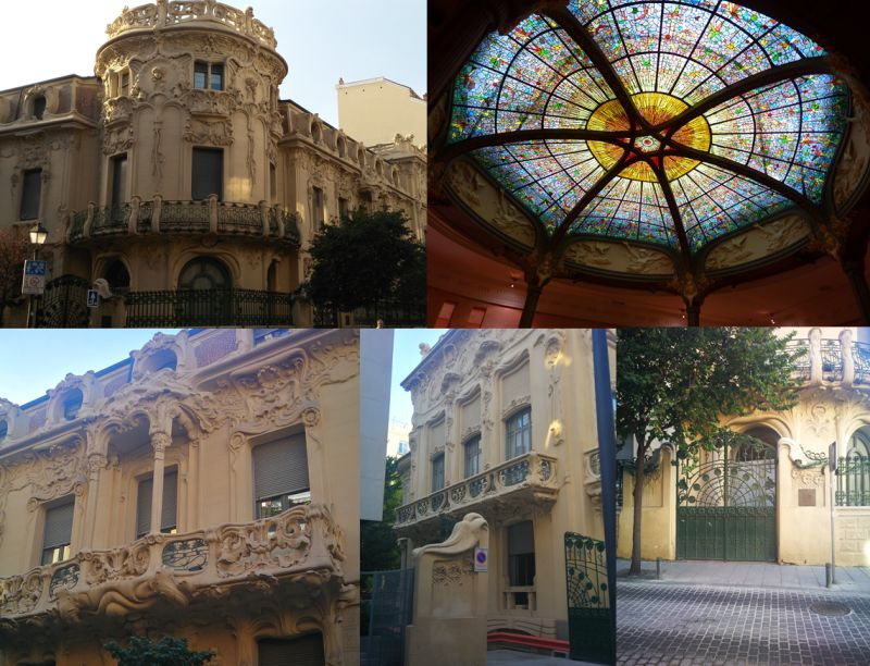Palacio Longoria SGAE Modernismo Madrid